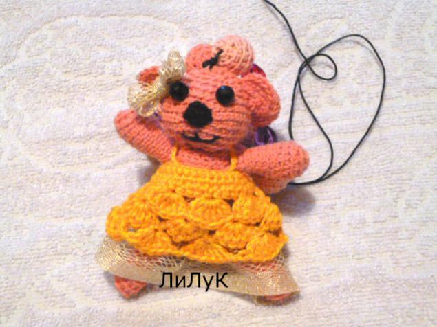 вязание крючком, вязаная игрушка