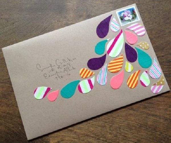 Украшаем конверт своими руками