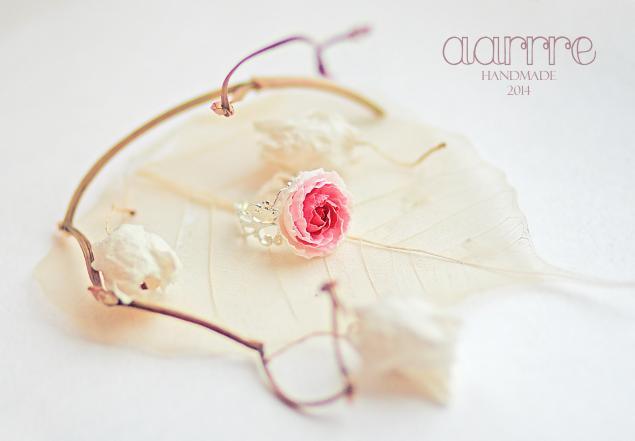 свадебные украшения, украшения для волос, венок, пионы, цветы из полимерной глины