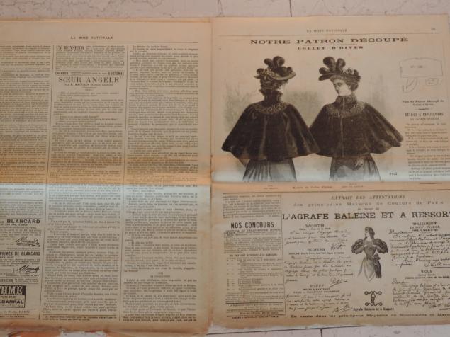 старинные журналы мод