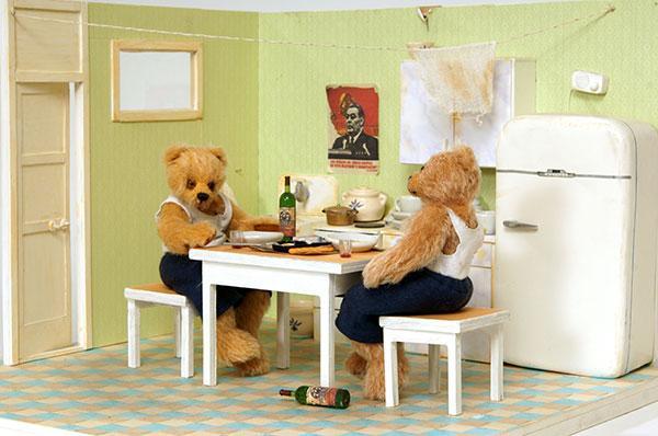 гузель костына, teddy, bears