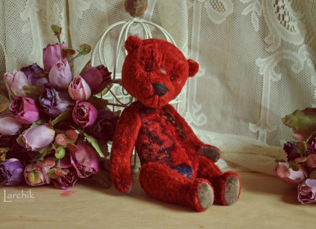 мишки-тедди розы