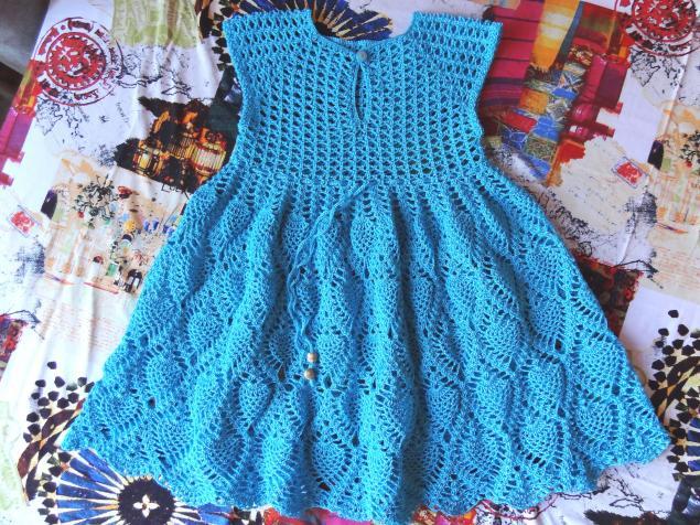 Летние платья для девочек 3 4 лет крючком реглан