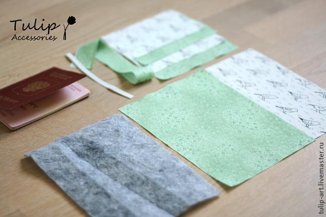 Обложка на паспорт своими руками из ткани