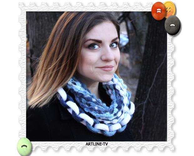 шарф-бусы