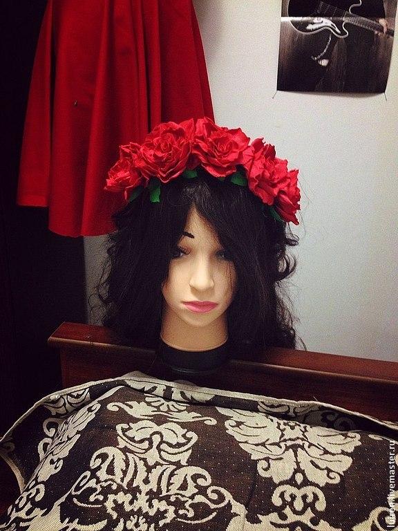 Реалистичная роза из фоамирана своими руками, фото № 21