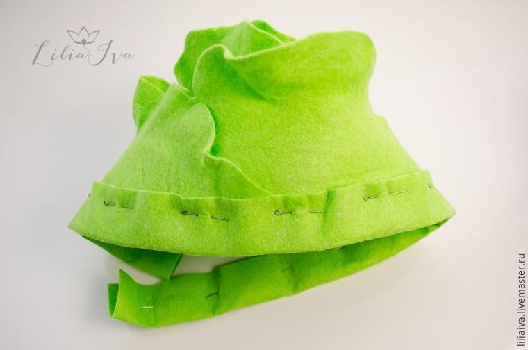 Шьем шапочку-капусту для детского капустника, фото № 14