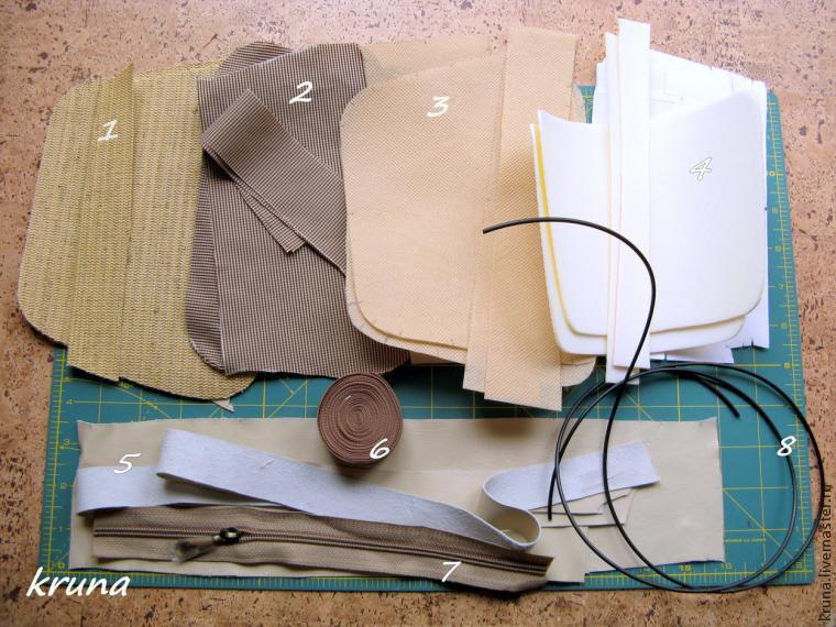обработка сумок