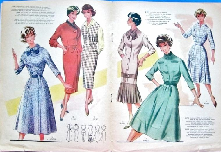 Журнал мод 60-х фото