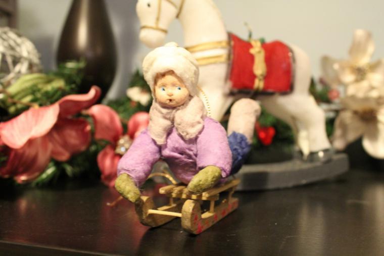 аля ашмарина, новогодние игрушки