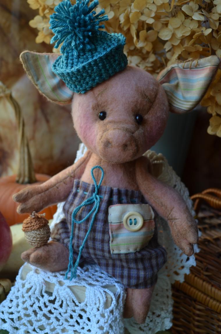 тематический подарок, хрюшка свиненок свинка