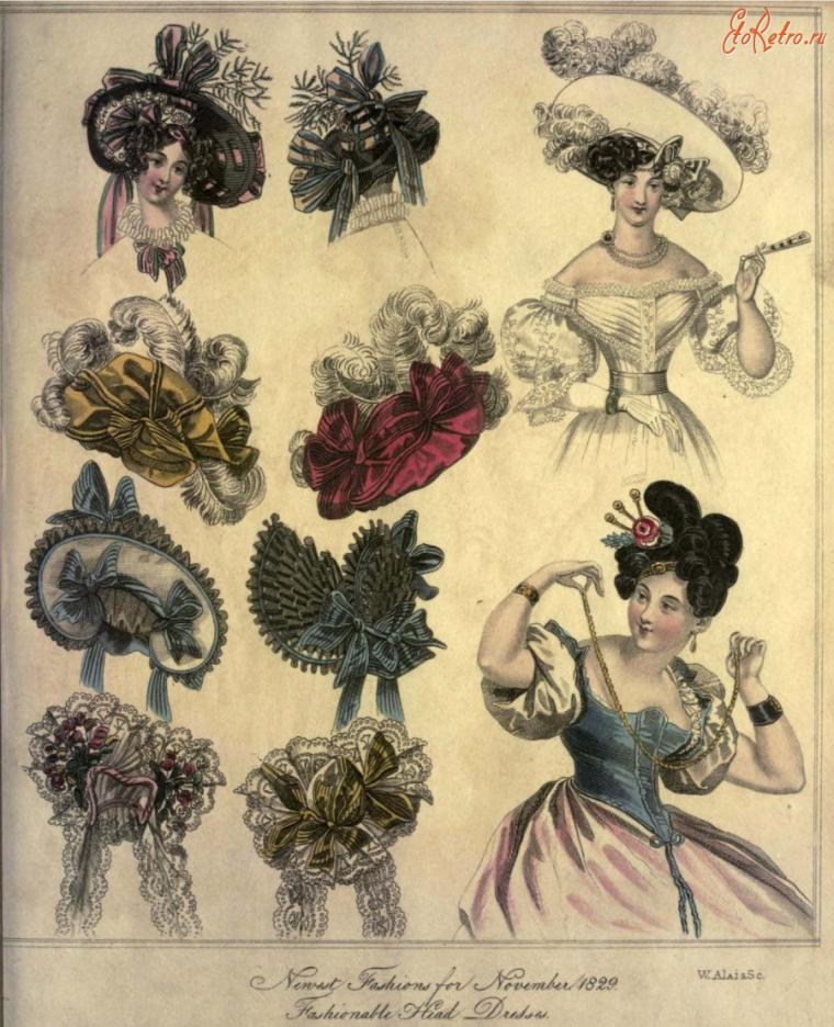 Шляпки своими руками 18 века