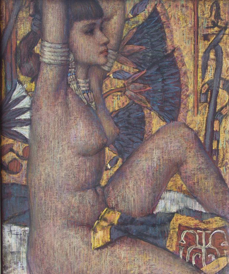 живопись о женщине