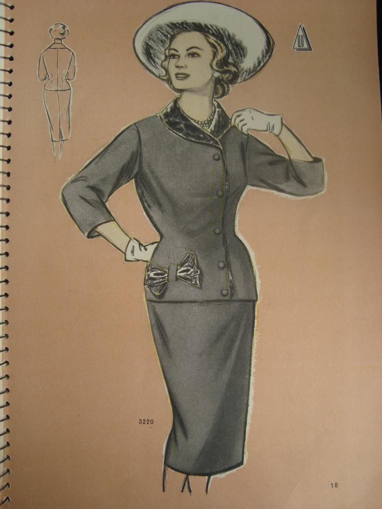 женская одежда, женское пальто, история моды, ретро стиль