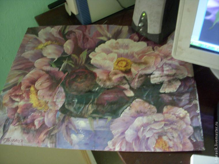 урок масляная живопись, художник