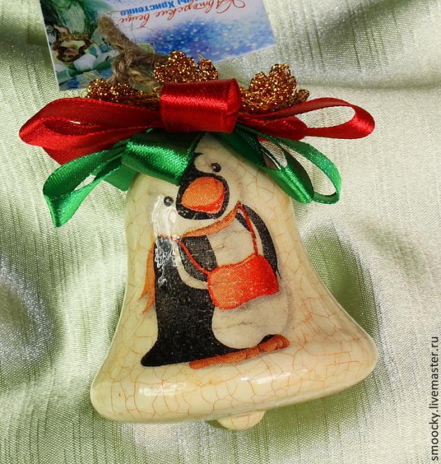 подарок ручной работы, подарочный набор нг 2014, новогодний мк, елочные игрушки, пингвинчики