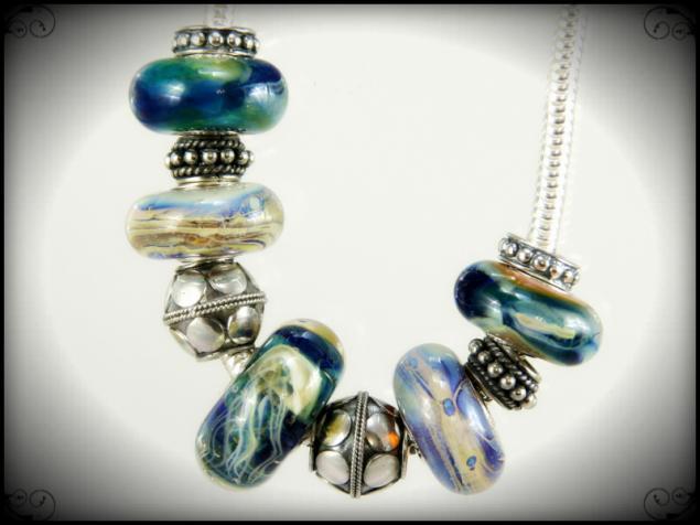лампворк, confettini-bead