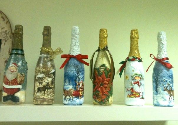 мастер-класс, декупаж, декупаж мастер-класс, новый год, подарок на новый год, новогодние сувениры