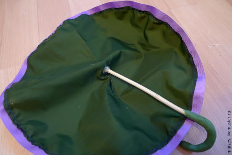 как сделать зонт