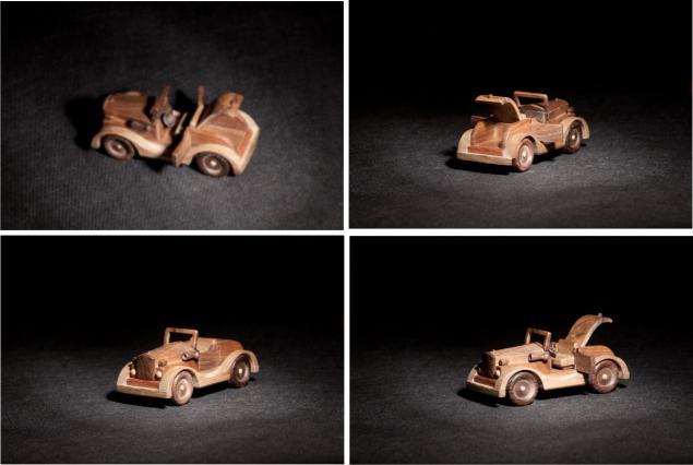 модели из дерева