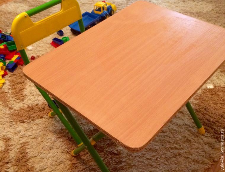декупаж детского столика