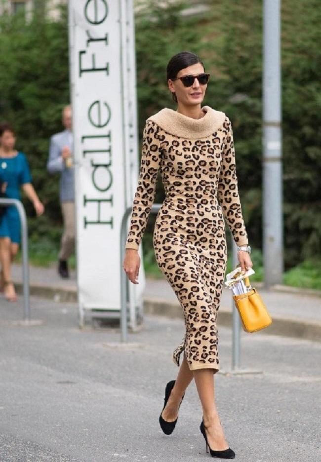 слова олицетворяют леопардовое платье с чем носить фото поделится