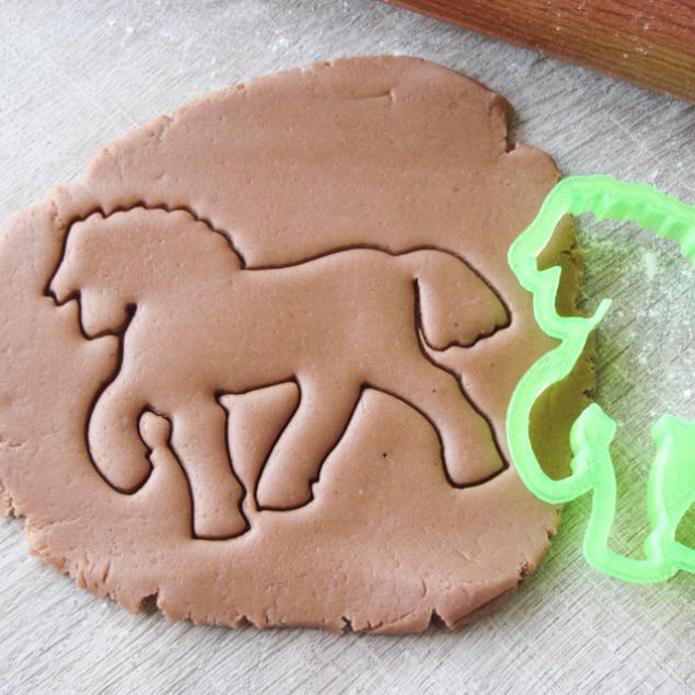 формы для печенья, резаки для глины