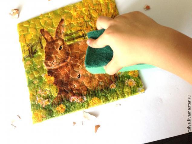 Делаем фреску вместе с детьми, фото № 8