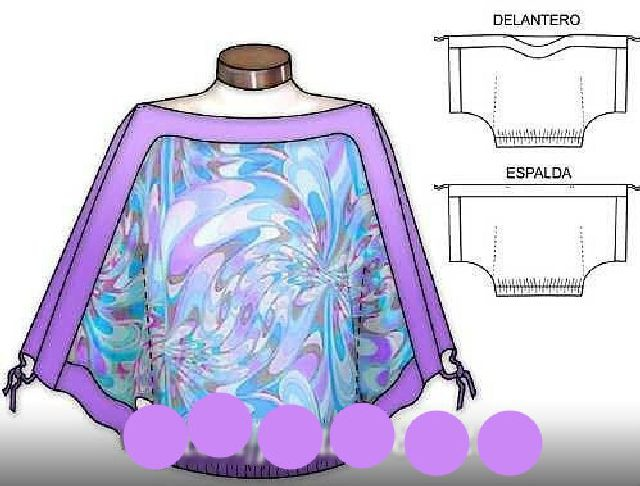 Блуза из платка
