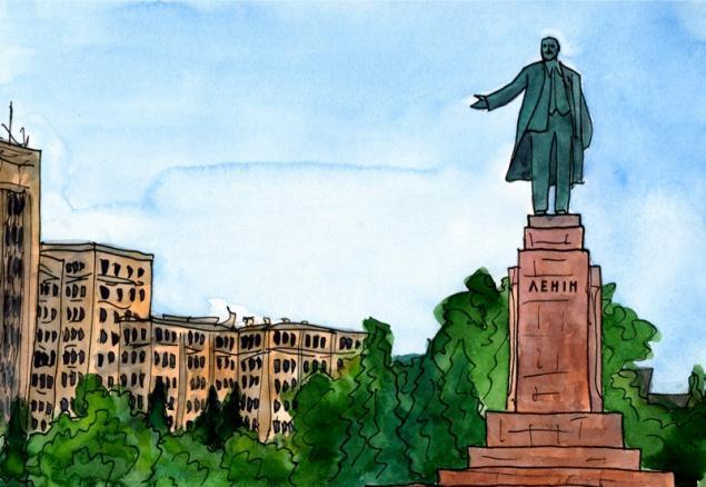 Путешествуем с Михаилом Щербаковым (Vokabre): быстрые зарисовки акварелью, фото № 38