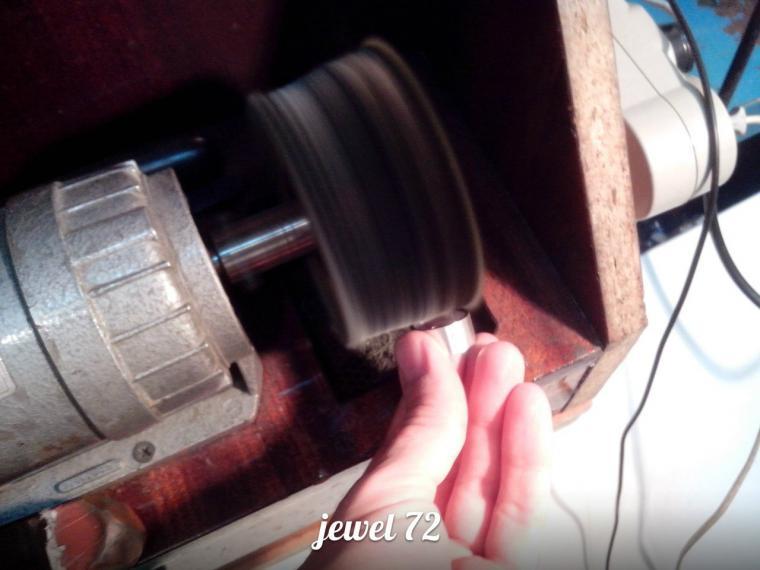Делаем стильное кольцо из серебра, фото № 17