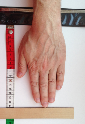 мерки, как измерить руку