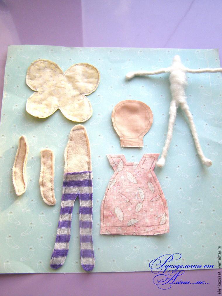 Мастерим куклу-подвеску «Бабочка» по мотивам Лалалупси, фото № 18