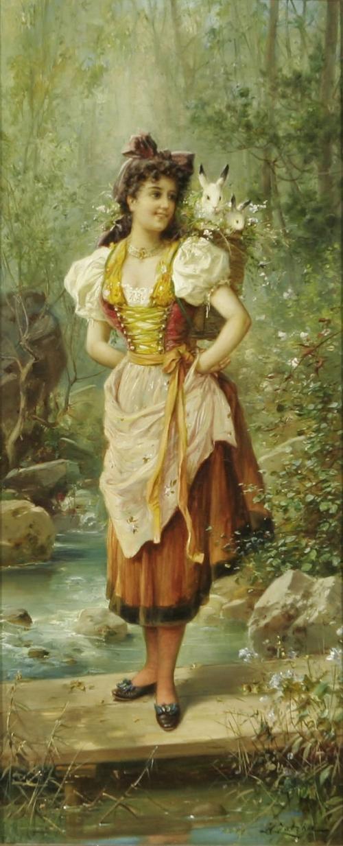 Шедевры живописи. Картины австрийского художника Ханса Зацка, фото № 12