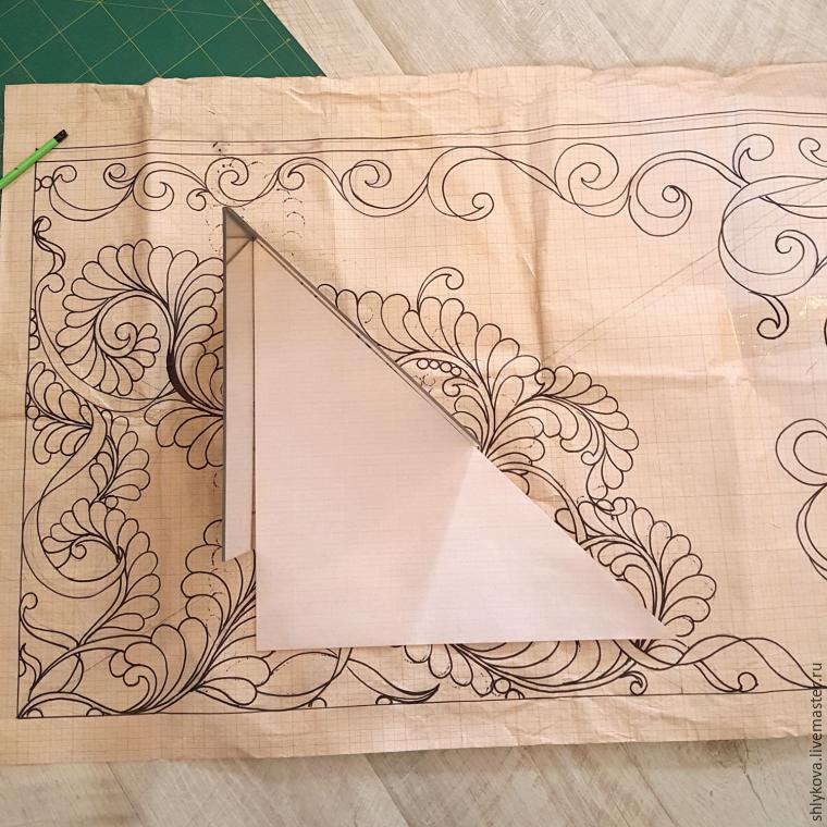 how to make ornament, design for trapunto