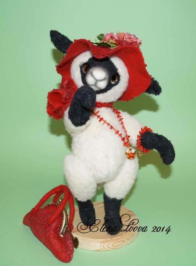 овечка -тедди, овца