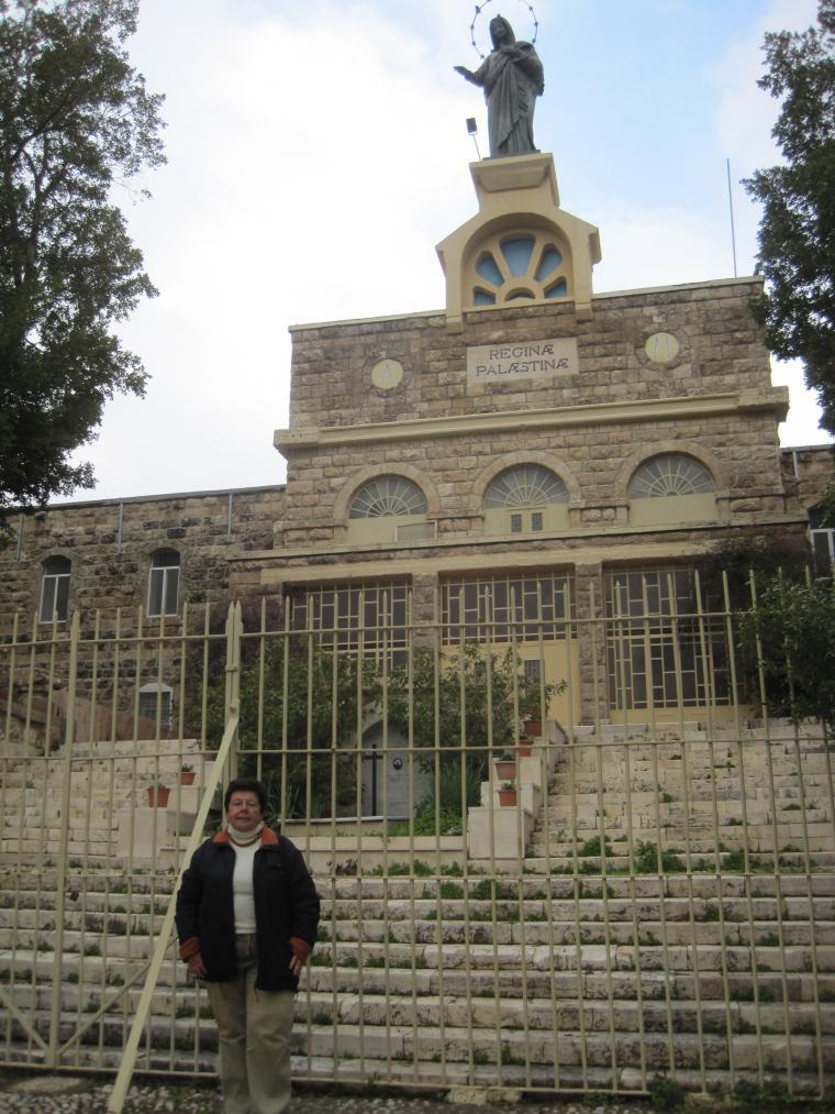 церковь regina palaestina