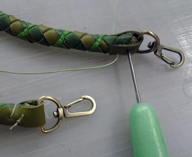Плетеные ручки для сумки своими руками 91