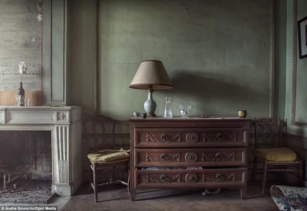 Заброшенная роскошь в бельгийском особняке, фото № 6
