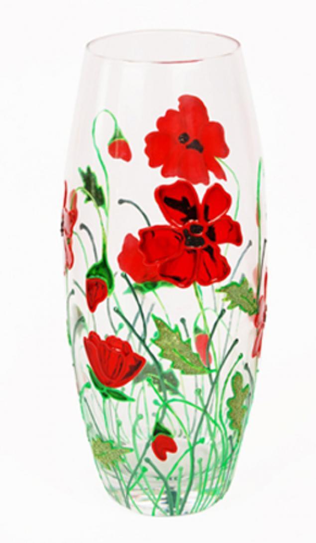 Роспись на вазах своими руками 150