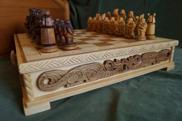 мы на ярмарке мастеров, шахматы, шахматный столик, шахматные фигуры