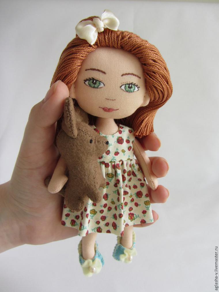 Мастер-класс для девочек  шьем платье для куклы – Ярмарка Мастеров d804e2c8557