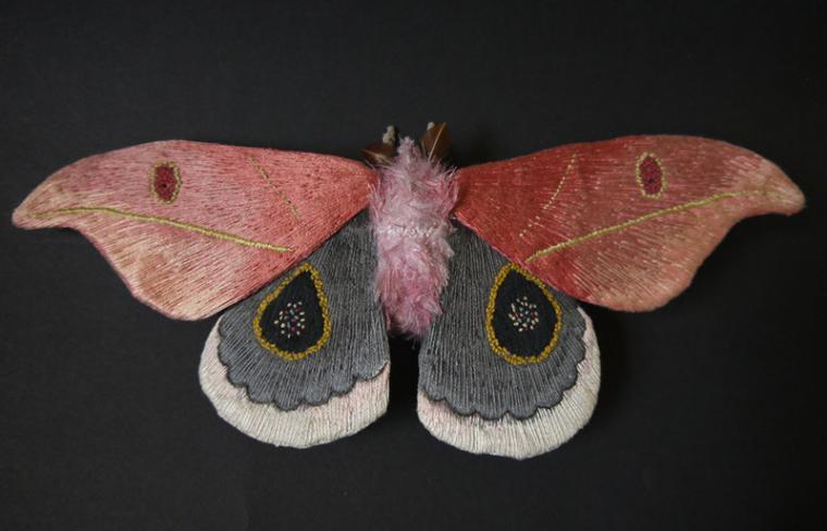Текстильные шедевры, или Бабочки как источник вдохновения, фото № 17