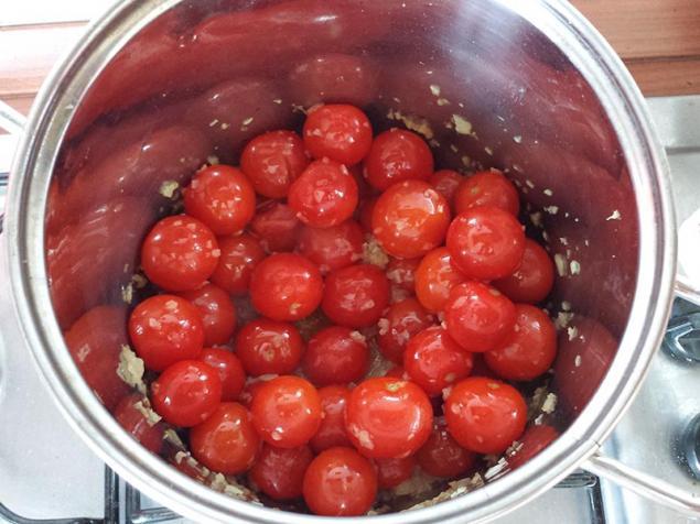 итальянская кухня, томатный
