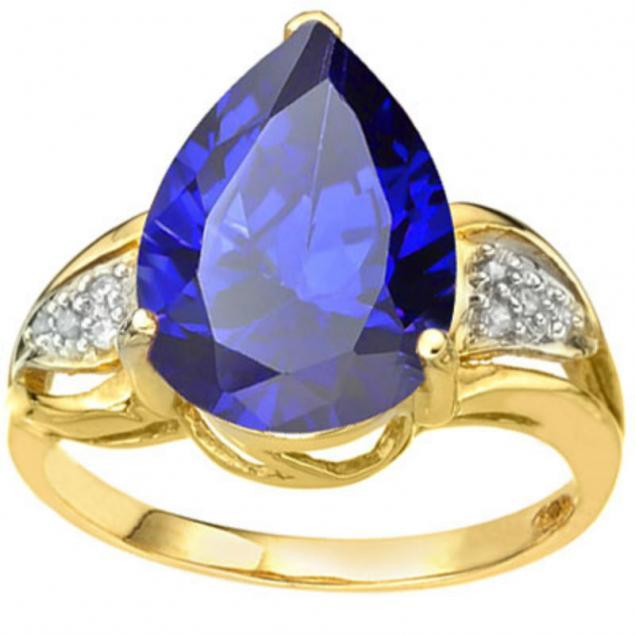 аукцион, кольцо с танзанитом