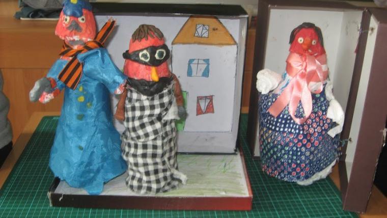 театр, кукла своими руками, творческий процесс