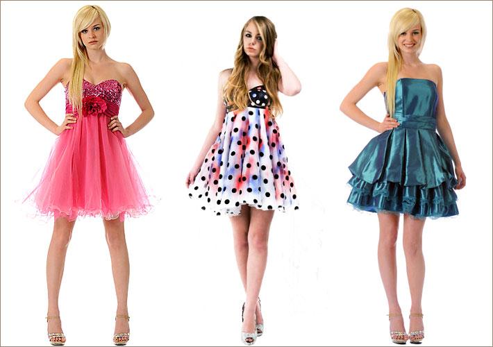 Разные названия платьев