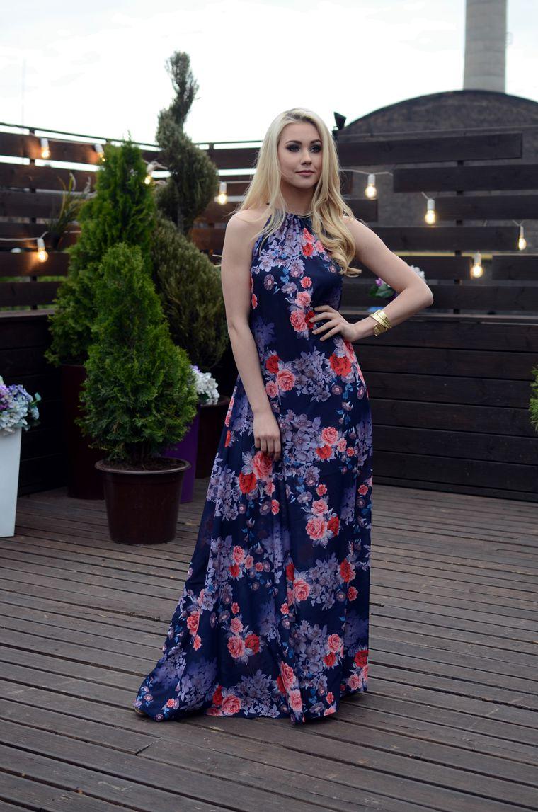 аукционы, летнее платье
