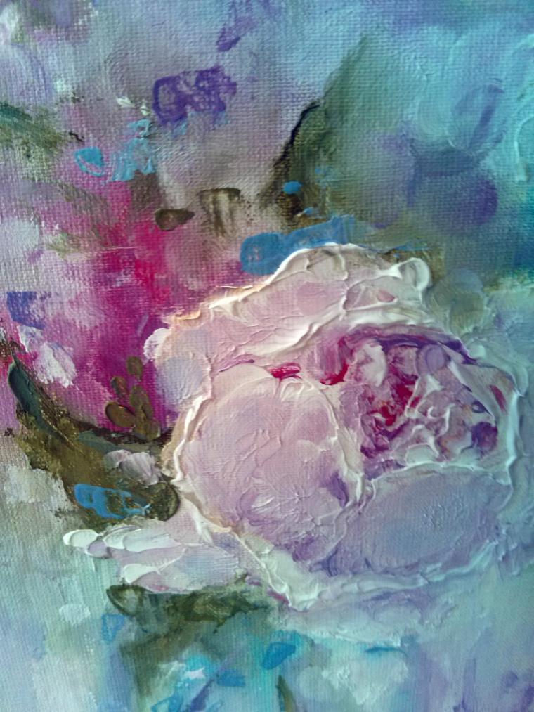 нежность, цветок в вазе
