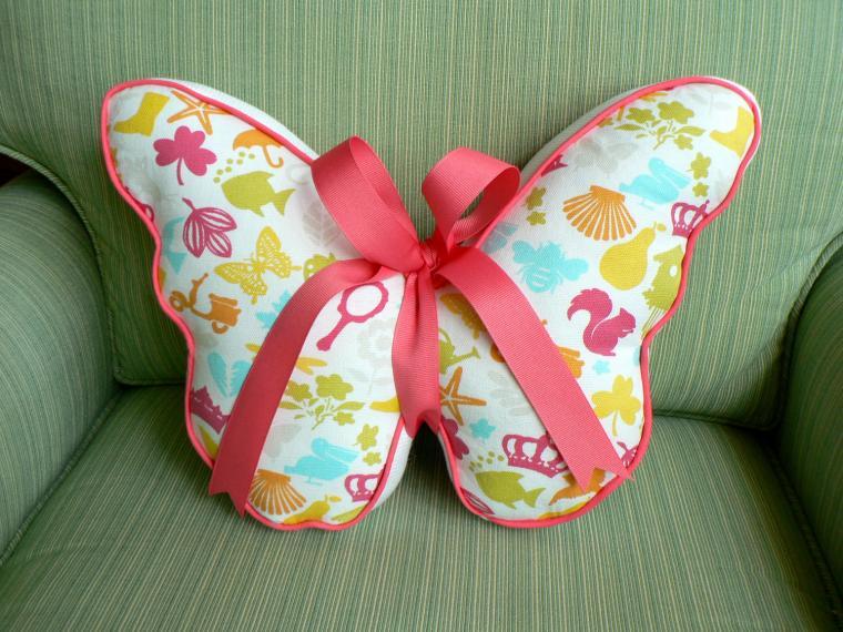 Мягкие игрушки бабочки своими руками